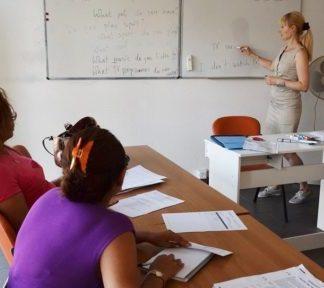 Cours d'anglais semi-intensifs, niveaux A1 à B2, Association découvrir
