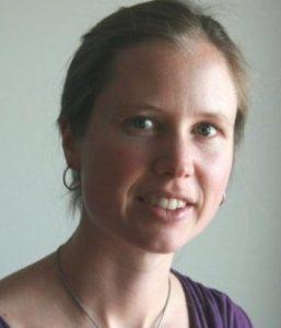 Sandra Moser, professeure de français à l'association découvrir-Genève